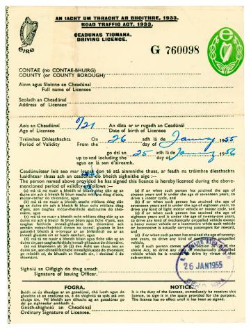 Que faire en cas d'expiration d'un permis de conduire ?